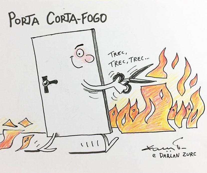 porta-corta-fogo